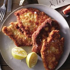 perfect crispy chicken cutlets...