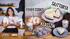 3 KÓKUSZGOLYÓS recept 1 videóban 🥥🥥🥥 Beverages, Birthday Cake, Cookies, Breakfast, Food, Crack Crackers, Morning Coffee, Birthday Cakes, Biscuits
