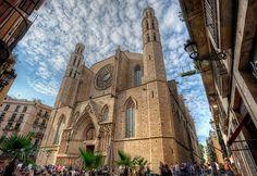 Place: Santa María del Mar, Barcelona / Catalunya, Spain. Photo by: Marc (flickr)