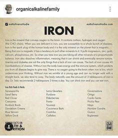 Dr. Sebi on Iron #DetoxRezepte Health Facts, Health And Nutrition, Health Tips, Health And Wellness, Natural Medicine, Herbal Medicine, Dr Sebi Nutritional Guide, Dr Sebi Herbs, Dr Sebi Diet
