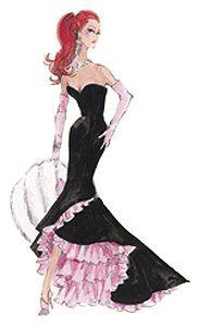 Barbie Illustration - Silkstone Siren