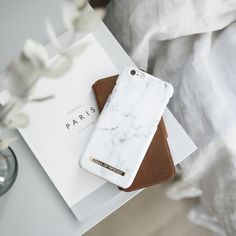 White Marble by @emmamelin - Fashion case phone cases iphone inspiration iDeal of Sweden #marble #gold #fashion #inspo #iphone #marmor