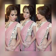 """""""Weekend saree sale"""" <3 <3 Pls call/whatsapp +919600639563. code: wss pnkslvr Price: 4599/- Material: Georgette saree with designer blouse For booking and further details pls call or whatsapp us at +919600639563 Happy shopping y'all :) Be Beautiful :)"""