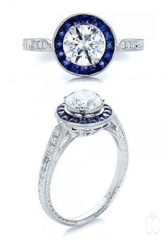 31 Awe-Inspiring Halo Engagement Rings | Joseph Jewelry - #JosephJewelry | Bellevue | Seattle