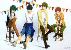 Kunihiro Hane, Kyoto Animation, Free!, Makoto Tachibana, Haruka Nanase (Free!)