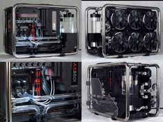 XuSi's Water-Mod PC Build not only looks great but made use of the steel frame to be part of the water-cooling system! Now that's one way to counteract size issues in this Mini-ITX build!  Specs: CPU: Intel i7-4790K Motherboard:ASUS Maximus VII Impact GPU: Sapphire R9 290 RAM: Avexir Blitz DDR3 2400 16G Power: Corsair AX860i SSD: Samsung 950 Pro PCle NVMe 512GB & 840evo 120GB Case: In Win D-Frame  Build log: http://forums.bit-tech.net/showthread.php?t=296999
