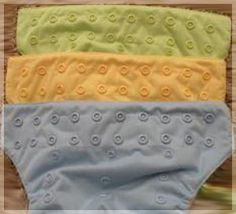 Convert worn-out velcro on diapers to snaps. Snap colors matching bumGenius, gDiapers, and PUL are available at KAMsnaps.com.  Diapers use size 20 snaps.