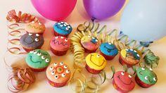 Monster Muffins für die Halloweenparty   Quatsch-Matsch.de