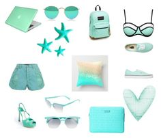 """AQUA"" by jmejrose on Polyvore"