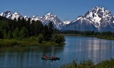 Scenic Float Trips offer some of the best views in Grand Teton National Park. Let Turpin Meadow Ranch arrange one for you when you stay with us.