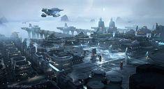 Spaceships and environments by Emmanuel Shiu