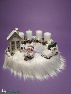 Advent, Wreath Ideas, Wreaths, Table Decorations, Christmas, Home Decor, Homemade Home Decor, Navidad, Door Wreaths