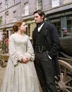 NORTH AND SOUTH (2004). Elizabeth Gaskell's love story of Margaret Hale, a middle class southerner who is forced to move to the northern mill town of Milton ~ and unexpectedly finds love.