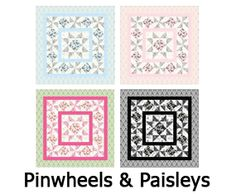 Pinwheels & Paisleys. http://shannonfabrics.com/download_patterns/PinwheelsAndPaisleys.pdf. Features Cuddle Classics http://www.shannonfabrics.com/new-arrivals-cuddle-classics-c-933_950.html and Kozy Cuddle Solids. Follow us on Pinterest   http://www.pinterest.com/shannonfabrics/