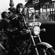 Easy riders: The Runaways, Marc Bolan, Frank Zappa & many more rock stars on motorcycles Marc Bolan, Dangerous Minds, British Rock, Frank Zappa, Progressive Rock, Easy Rider, Ozzy Osbourne, Rock Legends, Vintage Photographs