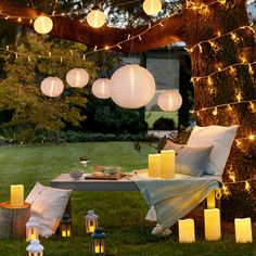 Deluxe Garden Party Light Bundle | Lights4fun.co.uk