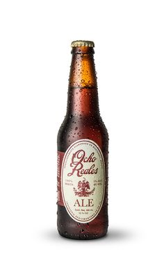 Ocho Reales Beer by TBS, via Behance