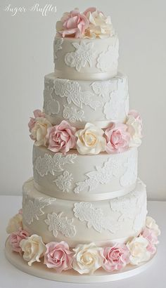 Wedding Cakes, Lake District | Cumbria | Sugar Ruffles | WEDDING CAKES