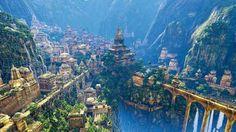 Waterfalls - cidade subterrânea criada pelos antigos deuses Incas para abrigar apenas os escolhidos cuidadosamente da humanidade enquanto a escuridão cobriria e dominaria o mundo da superfície.