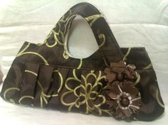 A Charming Tote Bag  Brocade Floral by sykesssillysite on Etsy, £18.50