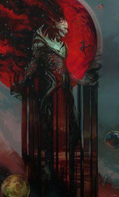 dormammu concept 3 for dr strange by jerad marantz Spectrum 15: The Best in Contemporary Fantastic Art