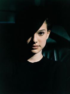 Natalie Portman fotografiada por Jean-Marie Perier, 1994