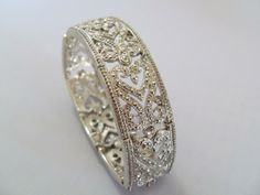 In reality this is a bracelet, but I wouldn't mind it for a ring either!