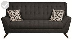 Coaster Home Furnishings 503774 Casual Sofa, Black/Black - Improve your home (*Amazon Partner-Link)