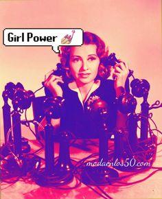 Divas al Teléfono - Moda en los 50 Lana Turner, Judy Garland, Sophia Loren, Grace Kelly, Audrey Hepburn, Rockabilly, Moda Pinup, Pin Up, Hollywood
