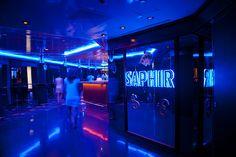 Boite de Nuit le Saphir, un grand dancefloor pour vous amusez jusqu'au bout de la nuit à bord de l' #horizon