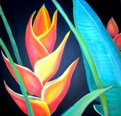 """Tropical"" by Debi Starr"