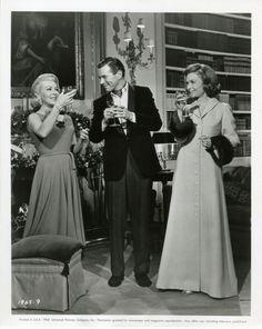 Lana Turner, John Forsythe and Constance Bennett in MADAME X (1966).