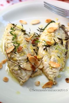 My Favorite Food, Favorite Recipes, Fish Recipes, Healthy Recipes, Fish And Meat, Menu, Daily Meals, Italian Recipes, Seafood