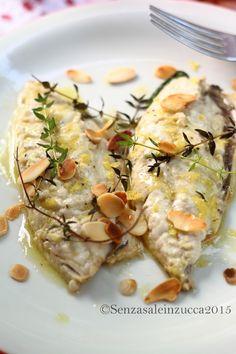 Senza Sale in Zucca: Filetti di sgombro al limone e timo