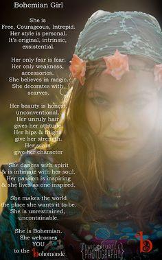 ☮ American Hippie Bohéme Boho Style ☮ Bohemian Girl ....
