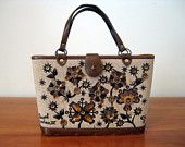 Enid Collins Jeweled Bag for Fall Autumn Thanksgiving
