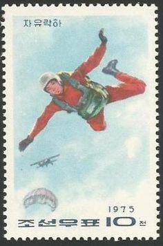 Caída libre. Series: Aerial sports  Corea del Norte