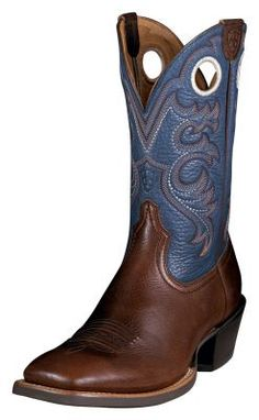 Mens Crossfire cowboy boots by Ariat. (via @Allens Boots)