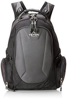 TETON Sports Professional Tech Laptop Backpack Laptop Bag up to 17 Screen Silver and Black *** You can get additional details at the image link.