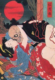Takato Yamamoto é um artista japonês que explora temas como vampiros, vida e morte, erotismo, homossexualidade, misogenia, metamorfoses e amor.