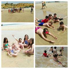 #primariasekelcastillo  @institucionsek 5EP Juegos y diversión al lado del mar.