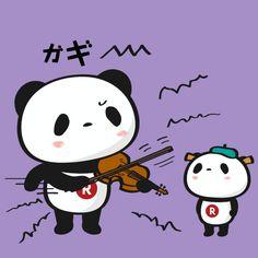 バイオリンの日 LINEスタンプで大人気!毎日更新「今日のお買いものパンダ」を見逃すな!今まで明かされなかったお買いものパンダの生態も少しだけ公開!