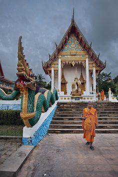 Karon Temple in Phuket, Thailand Thailand Travel, Asia Travel, Time Travel, Laos, Brunei, Maldives, Asia Cruise, Timor Oriental, Buddha Temple