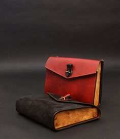 Laruel leather wood clutch COOB by Nautilus by COOBwood on Etsy