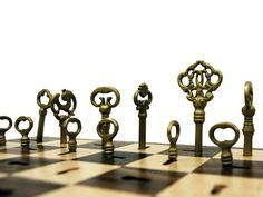 Skeleton Key Chess Set