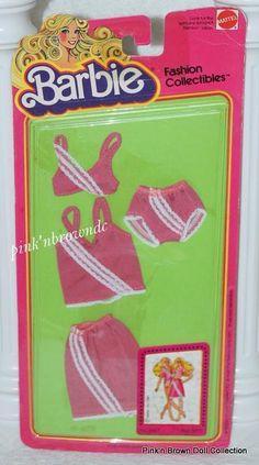 Barbie Fashion Collectibles/Best Buy/Fun/Favorites NRFP 1981 UNDERGARMENTS #3687