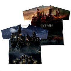 Hogwarts Castle Sublimation Print Youth T-shirt |