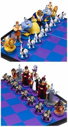 Диснеевские шахматы