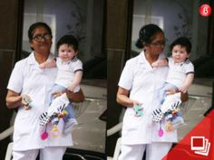 Taimur Ali Khan makes yet another cutesy appearance and we are once again in awe