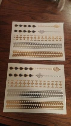 Pur-lisse skin sparkle flash tattoos. New never opened. *Have 1*